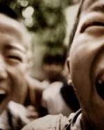 Kids playing, Shanxi, China.